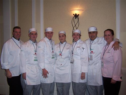 ProStart team photo, I am on the far left